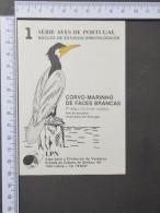 CORVO-MARINHO - AUTOCOLANTE LPN AVES DE PORTUGAL -  (Nº11496) - Adesivi
