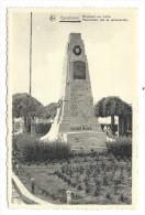 CPA - GANSHOREN - Monument Aux Morts - Gedenkteken Aan De Gesneuvelden  // - Ganshoren