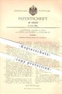 Original Patent - Gottfried Liessem & Peter Laufenberg In Köln , 1903 , Schulbank , Schule !!! - Historical Documents