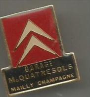 Garage Citroen  M. Quatresols Mailly En Champagne - Citroën