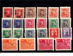 CHINA3-01 22 MINT STAMPS