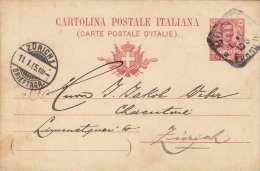 Italien 1905 - 10 C Ganzsache Auf Pk - 1900-44 Victor Emmanuel III.
