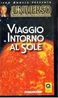 X Viaggio Intorno Al Sole L'universo Piero Angela De Agostini - Cassettes Vidéo VHS
