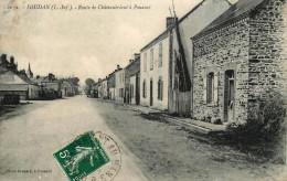 Soudan - Route De Chateaubriant à Pouancé - Animation - France