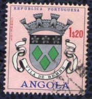 Angola 1963 Oblitéré Used Blason De La Ville Vila De Bembe - Angola
