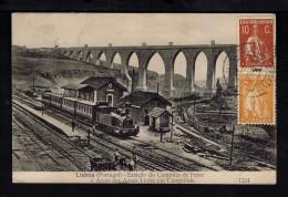 Portugal Lisboa Ambulancia Chemins De Fer Railway Trains Gc2292