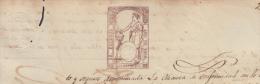 1869-PS-10.CUBA  ESPAÑA SPAIN. ISABEL II. SEALLED PAPER .PAPEL SELLADO .SELLO ILUSTRES. - Cuba