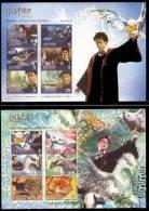 2004 1st Harry Potter Stamps S/s- Prisoner Of Azkaban Owl Cinema Bird - Fairy Tales, Popular Stories & Legends