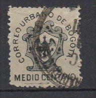 "A993.-.KOLUMBIEN / COLOMBIA. 1889- LOCAL POST- "" CORREOS URBANOS DE BOGOTA"" -TYPE II-USED - Colombia"