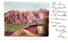 11082  CO Cathedral Park Spires 1905 Cripple Creek Train Short Line