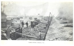 11043 VA Inman 1908  Coal Minning  Coke Ovens - Andere