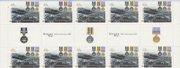 Australia 2000 50th Anniversary Korean War Gutter Strip MNH - 2000-09 Elizabeth II