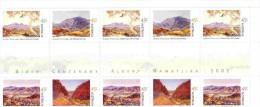 Australia 2002 Albert Namatjira Gutter Strip MNH - 2000-09 Elizabeth II