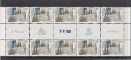 Australia 2002 Joint Issue With France 45c Gutter Strip - 2000-09 Elizabeth II