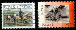Islande Scott N° 844.851...oblitérés - 1944-... Republique
