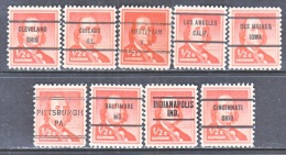 U.S. 1030   (o)  ALL  DIFFERENT  CITIES   LIBERTY  SERIES - United States