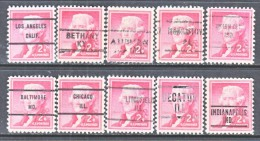 U.S. 1033   (o)  ALL  DIFFERENT  CITIES   LIBERTY  SERIES - United States