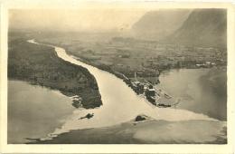 SVIZZERA  SUISSE  VS  BOUVERET Lac Leman  Arrivée Du Rhône Au Bouveret - VS Valais