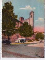 Pamiers.. Eglise Du Camp.. Voitures.. Bus.. Car.. Autocar - Pamiers