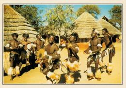 ZIMBABWE     DANZE  TRIBALI       (NUOVA CON DESCRIZIONE DEL SITO SUL RETRO) - Zimbabwe
