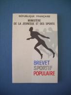 BREVET SPORTIF POPULAIRE / BSP 1967 - Sports