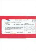 TICKET SNCF ABONNEMENT DE TRAVAIL HEBDOMADAIRE 1999 DE LA LOUPE A NOGENT LE ROTROU EURE ET LOIR - Season Ticket