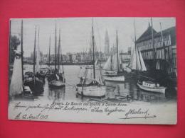 Anvers.Le Bassin Des Yachts A Sainte-Anne - Antwerpen
