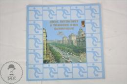 Soviet Union State Travel Agency Intourist - Kiev  Olympic Games 1980 Tourist Brochure - Folletos Turísticos