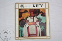 Soviet Union State Travel Agency Intourist - Kiev Tourist Brochure In Spanish - Folletos Turísticos