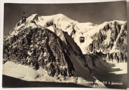 Courmayeur Monte Bianco E Funivia Viaggiata F.g. - Italia