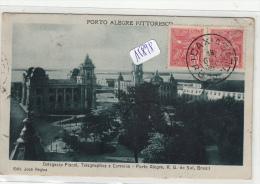 CPA -  Brésil -  Porto Alegre ( Pittoresco) - Divers Bâtiment - Porto Alegre