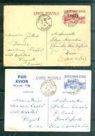 lot de 26 documents correspondance d'un marin du sous marin saphir en tunisie 1939/1942 - aoa19