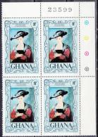 Ghana     Scott No. 626   Mnh    Year  1977 - Ghana (1957-...)