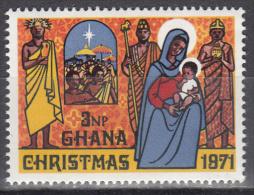 Ghana     Scott No. 434   Mnh   Year  1971 - Ghana (1957-...)