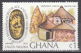 Ghana     Scott No. 614   Mnh   Year  1977 - Ghana (1957-...)