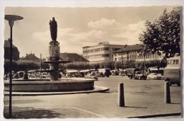 Saarlouis Grober Markt Viaggiata Anni 60 Formato Piccolo - Germania