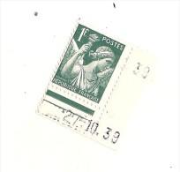 N 431 Neuf Mercure 1 Fr Côte Unité 1.50€  Maury  2009   Gomme D'origine Sans Charnere - Ongebruikt
