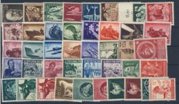 Deutsches Reich Michel No. 864 - 906 ** postfrisch MNH Jahrgang 1944 komplett