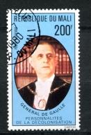 Thème Général De Gaulle - MALI Yvert 294 Oblitéré - De Gaulle (Generale)