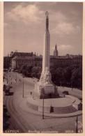 Latvia. RIGA.The Freedom Monument. - Latvia