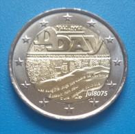 2 Euro Commemorative France 2014 70ans Du D-Day PIECE NEUVE UNC - France
