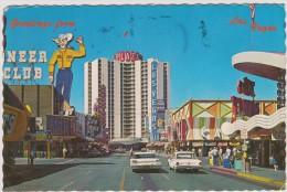 états  Unsi :   FREMONT   STREET  , Casino   Center , Las  Vegas  Nevada - Etats-Unis