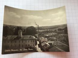 SEPRIO MOZZATE - Via Santa Maria - Cartolina FG BN V 1952 - Altre Città
