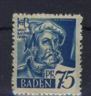Baden Michel No. 11 v w I ** postfrisch