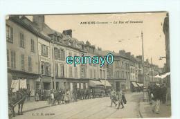 Bf - 80 - AMIENS - Le Rue De Beauvais - édition L C H - Amiens
