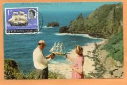 Pitcairn Islands Old Postcard - Pitcairn Islands