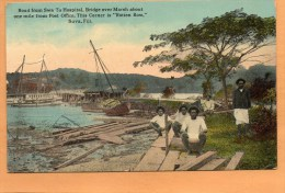 Suva Fiji 1921 Postcard - Pitcairn Islands