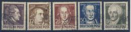 SBZ Michel Nr. 234 - 238 gestempelt used