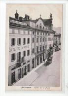 SUISSE - TESSIN - BELLINZONA - Hôtel De La Poste - Très Bon état - TI Tessin