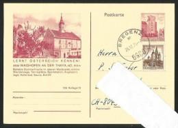WAIDHOFEN An Der Thaya Niederösterreich Postkarte Bregenz 1974 - Waidhofen An Der Thaya